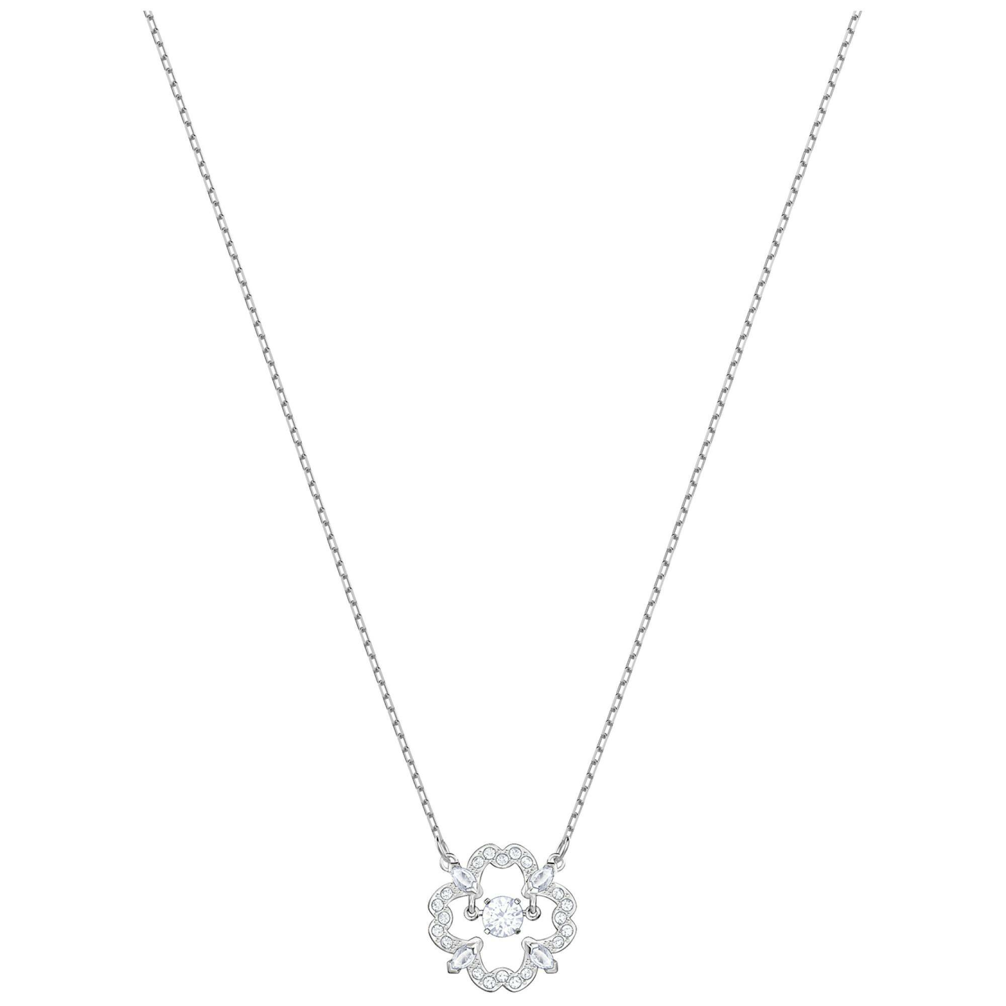 [SWAROVSKI] SPARKLING DC:NECKLACE FLOWER