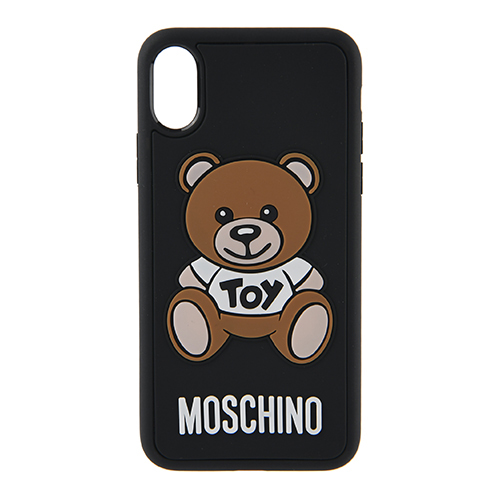 [MOSCHINO]TEDDY BEAR COVER FOR IPHONE X/XS/7925-8306-1555