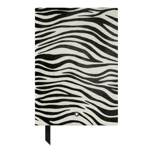 [MONTBLANC]Notebook #146 Animal Print Zebra/U0118031