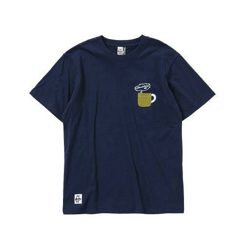 [CHUMS]Donut Menu T-Shirt / Navy /CH01-1502-N001