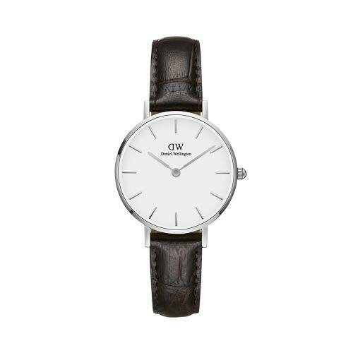 [DANIEL WELLINGTON]Petite 28 York S White