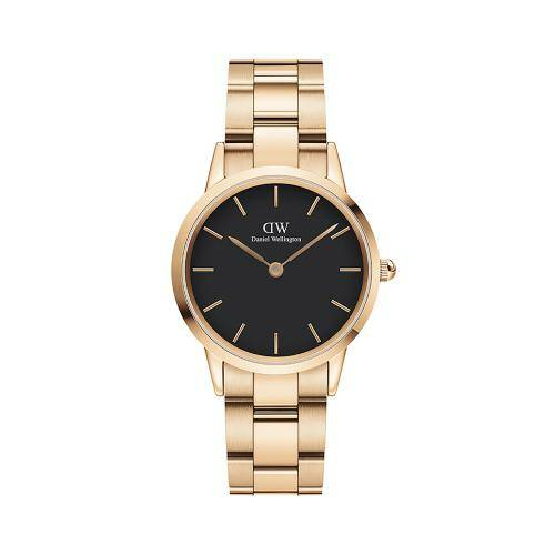 [DANIEL WELLINGTON]Iconic Link 32 RG Black